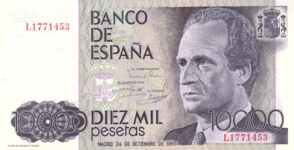 Pesetas to dollars: is old Spanish currency still worth anything?